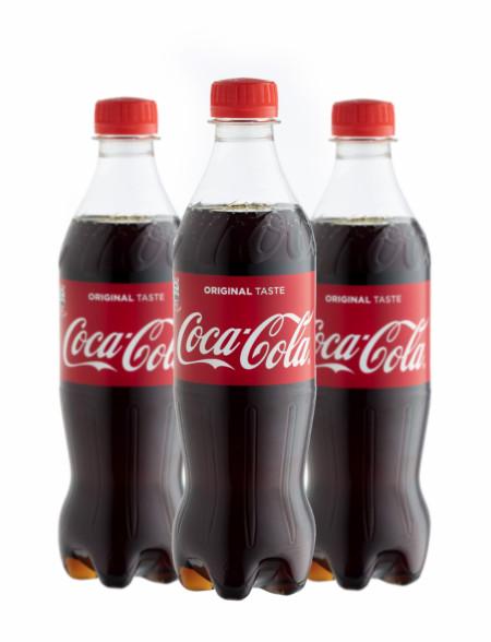 Coca Cola 0,5 Liter Pet Flasche
